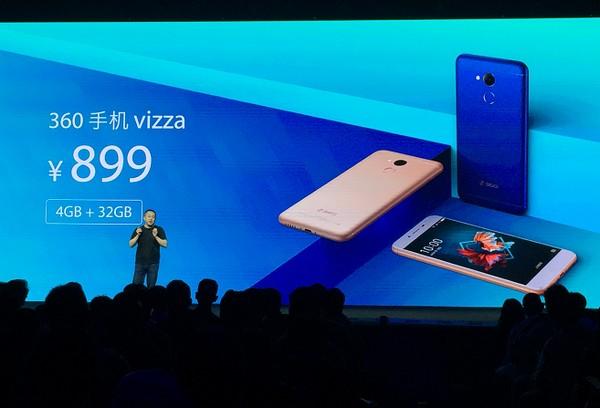 产品售价方面,360手机vizza标配4GB+32GB版售价899元,将于京东商城独家首发。即日起在京东、360商城开启预约,想提前体验这款产品的朋友也可关注8月31日下午京东、360商城的限量抢先购活动,届时将有少量新机放出,供消费者尝鲜。此外,9月6日360手机还将联合京东开启新品手机vizza王牌首发活动,当天将有充足现货发售,再掀抢购热潮。
