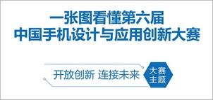 一张图看懂第六届中国手机设计与应用创新大赛
